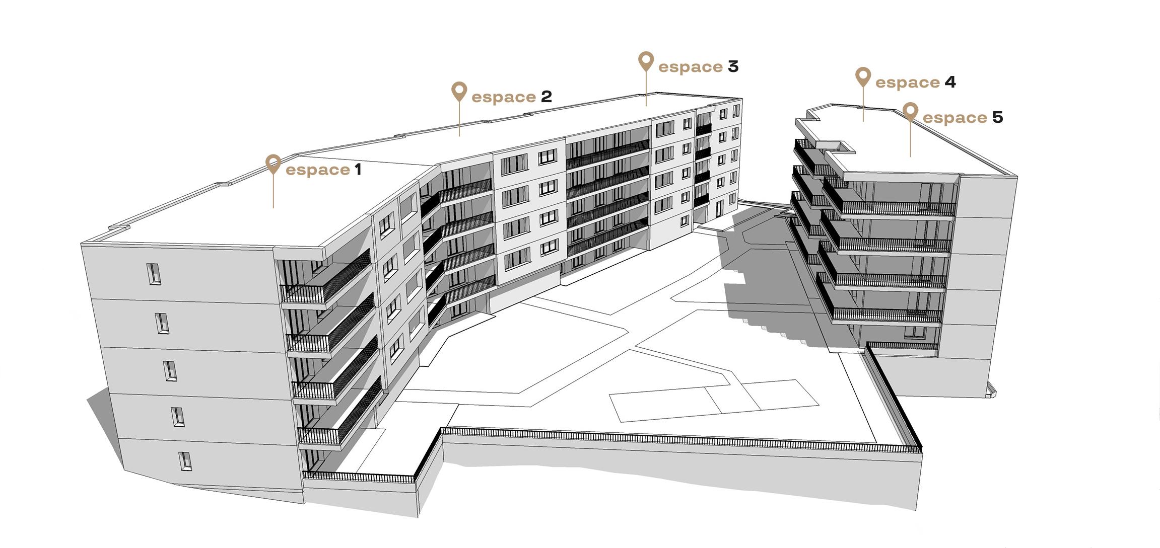 Les 5inq appartements à louer sierre les cinq